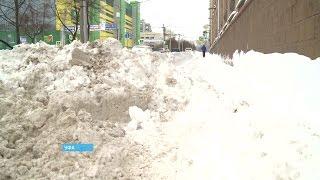 Уфа утопает в снежных завалах