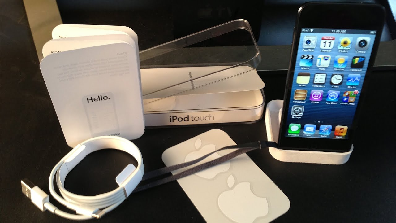 new apple ipod touch 5th generation unboxing 5g 2012 and