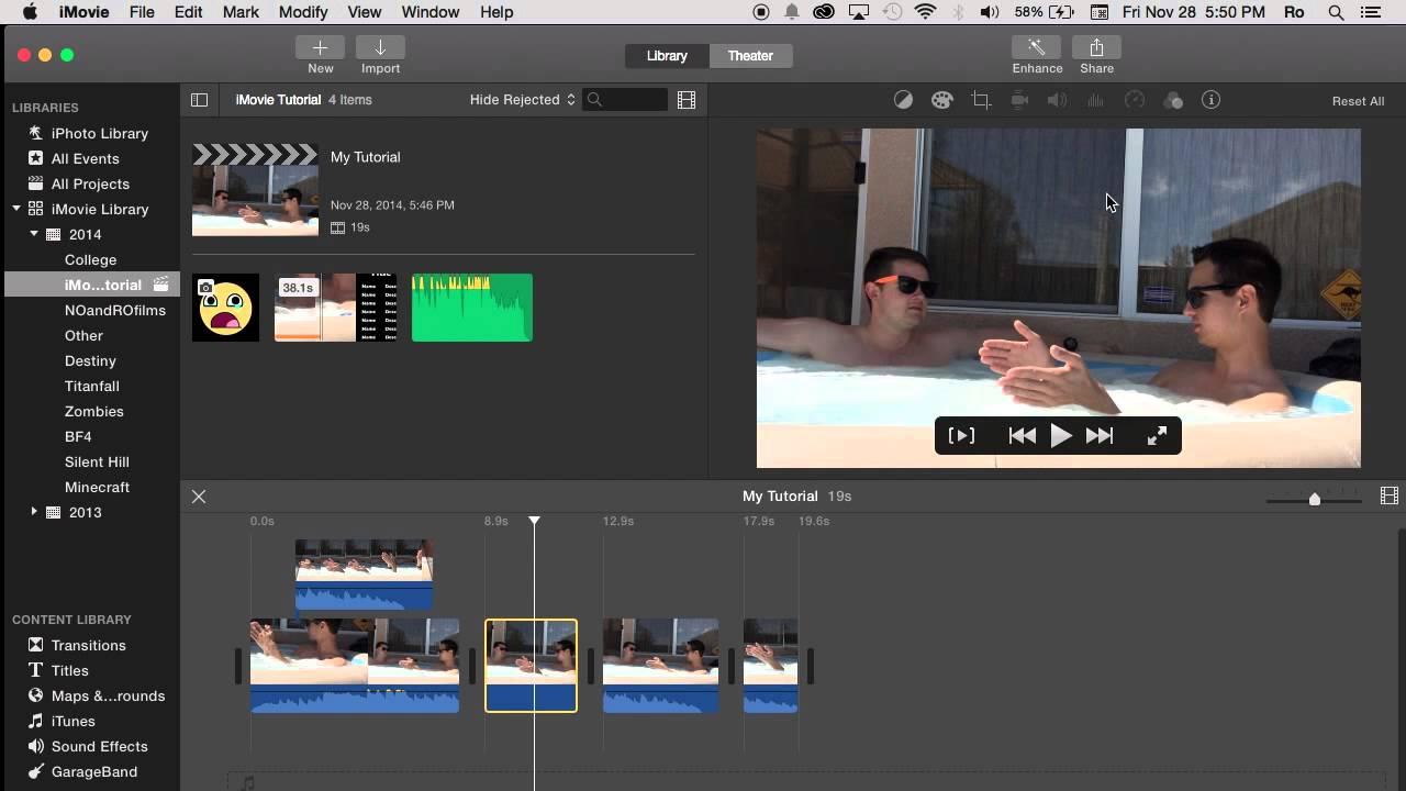 NO Adjust Button in iMovie 10 0 6 | Tutorial 59
