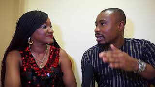 Africa Alive Interviews Senator Comedian at the Okey Bakassi Live In London