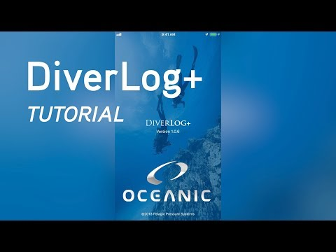 DiverLog+ Scuba Diving App Tutorial for Oceanic Computers
