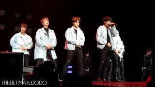 FANCAM 170323 BTS Baepsae 뱁새 The Wings Tour in Newark