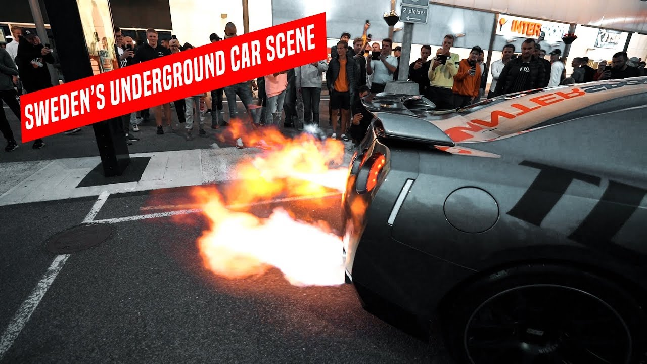 GTR SHOOTS RECORD BREAKING FLAMES!