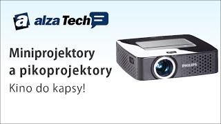 Miniprojektory a pikoprojektory: Kino do kapsy! - AlzaTech #182