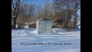 Dog Kennel Cover, Winter Bundle For 6 X 10 Kennel,10x10 Dog Kennel