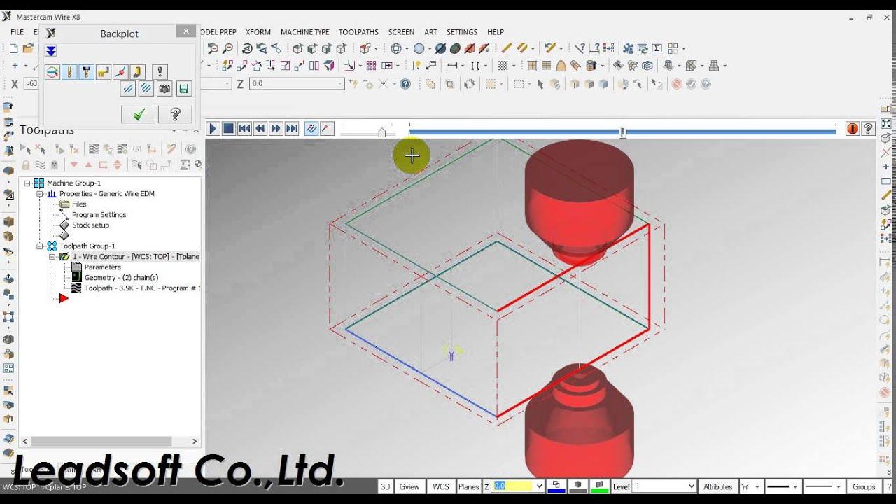 mastercam wirecut basic youtube rh youtube com