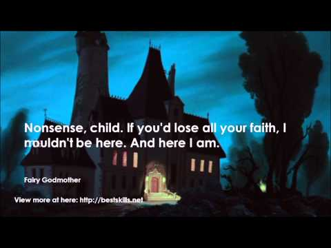 Top 20 quotes from Cinderella (1950) - YouTube