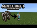 HOW TO MORPH INTO ANY MOB MCPE | Minecraft Pe