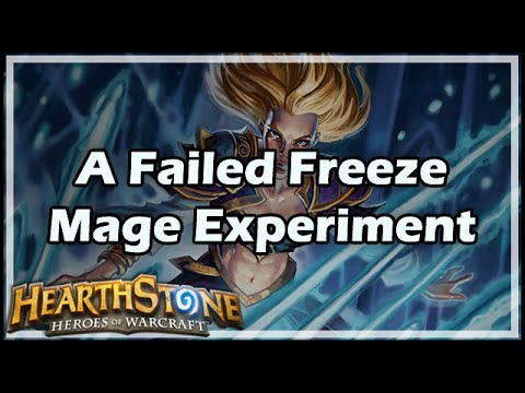 [Hearthstone] A Failed Freeze Mage Experiment
