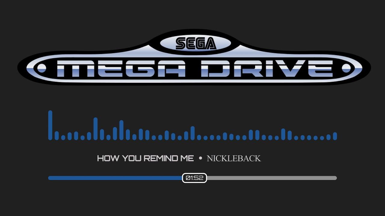 Nickleback - How You Remind Me Instrumental | SEGA Chiptune Remix