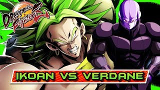 OH MY GOD!!! EL BRUTAL HIT de IKOAN contra VERDANE!! DRAGON BALL FIGHTERZ ONLINE