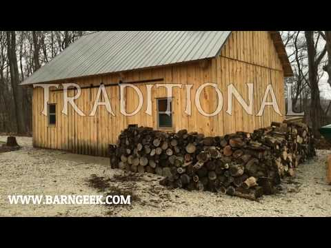 How to Build a Barn Series: U BRACKET AND POST LAYOUT