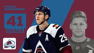 Nathan MacKinnon (#29) | All 41 Goals from 2018-19 Regular Season | COL
