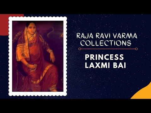 portrait of maharani chimanbai i princess laxmi bai youtube