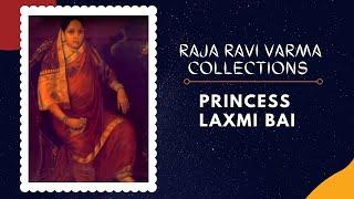 Portrait Of Maharani Chimanbai I, Princess Laxmi Bai