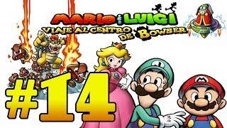 """Mario & Luigi: Viaje al centro de Bowser Parte 14 """"Bacteria,Robando a la princesa y ¡BOOOM!"""""""