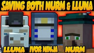 How To Save Both Nurm U0026 Lluna   HIDDEN EASTER EGG   Minecraft: Story Mode
