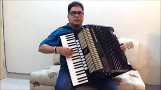 Kisliye Maine Pyar Kiya - Accordion Instrumental by Subhash Parab