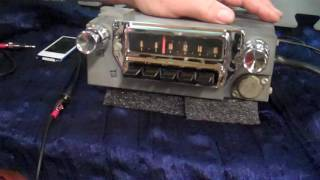 1965 Mustang original am radio