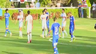 جميع أهداف مباراة الزمالك ضد سموحة الودية 5 - 1 بتاريخ 19/7/2020