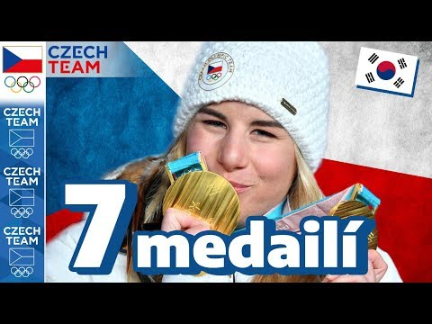 Všechny české medaile ze ZOH 2018