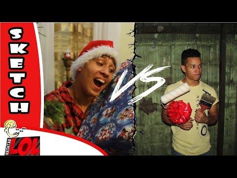 Navidad Gringa VS Navidad Dominicana #LOL