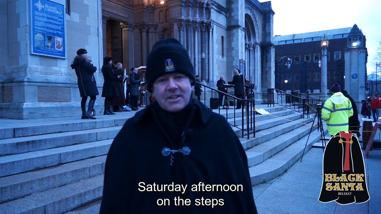 Belfast Black Santa - Daily Blog - Day 3 19/12/2020