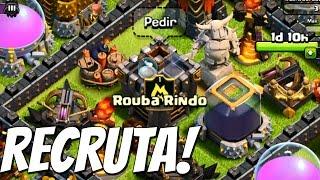 Clash of Clans - Meu Clan Recruta!