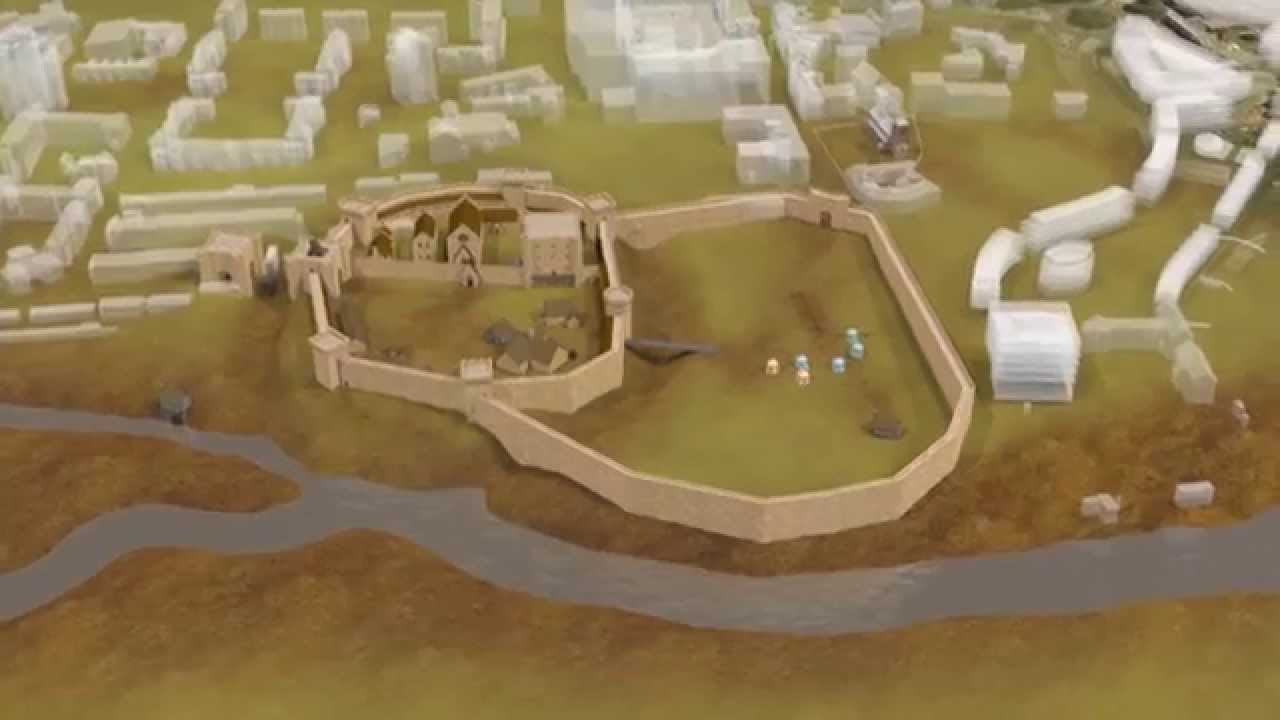 Northampton Castle - Virtual Tour