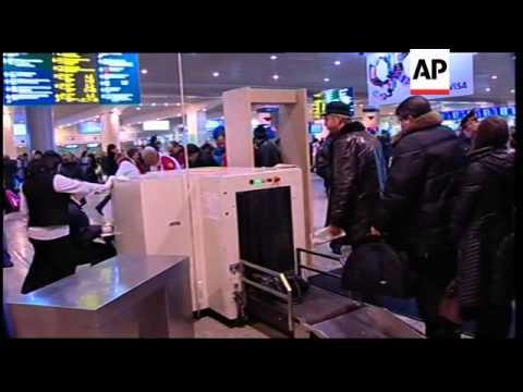 Russia - Bomb blast at Domodedevo airport