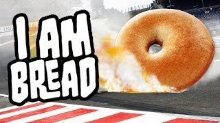 I am Bread Gameplay - Bagel Race - NEED FOR SPEED!