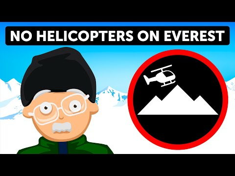 Why Helicopters Can't Fly To Everest