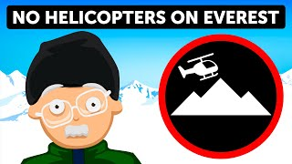 Why Helicopters Stopped Going on Everest