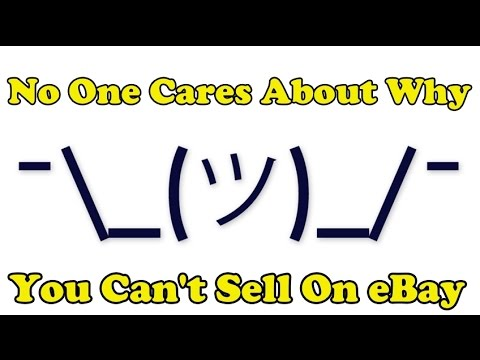 Scavenger Life Episode 201: No One Cares About Why You Can't Sell On eBay