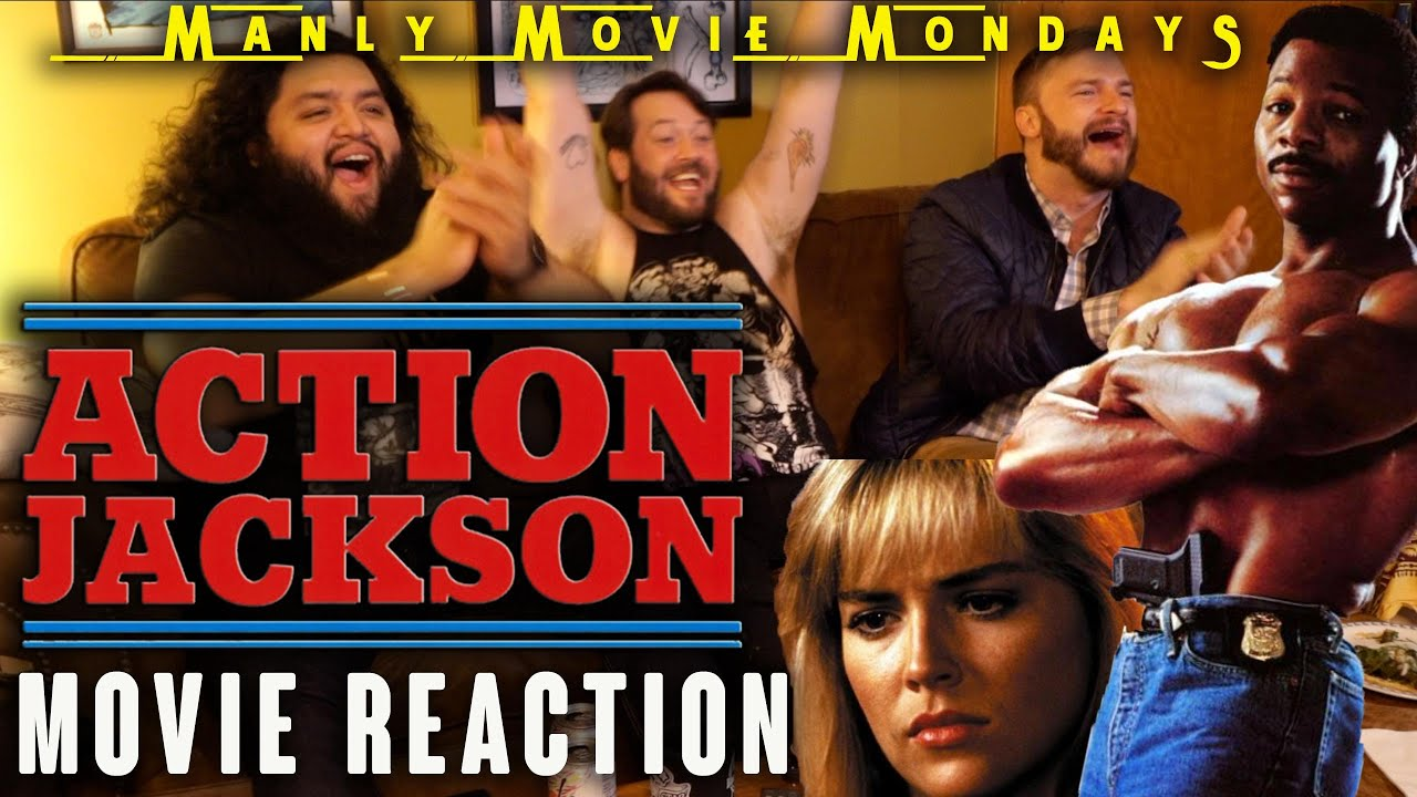 """Download """"ACTION JACKSON"""" is a CHEESY 80's CLASSIC! // Movie Reaction // Manly Movie Monday"""