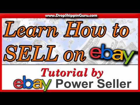 How to Sell on eBay - Beginners Tutorial - Tips and Tricks - VERY DETAILED