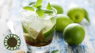 MOST OUTRAGEOUS MOJITO EVER (is it even a mojito?)