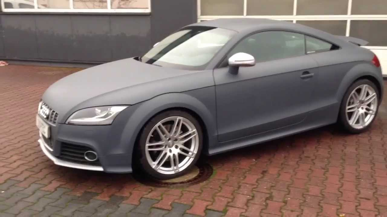 Audi Tt In Gun Metal Gray Gedippt Youtube