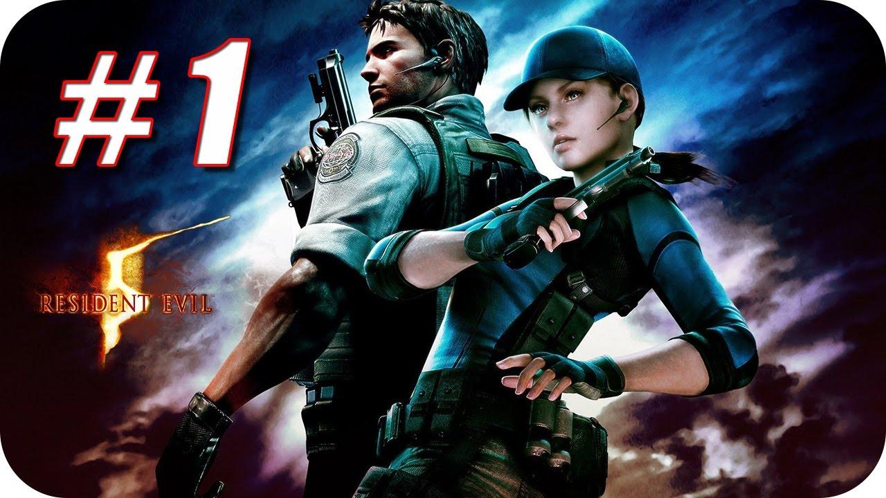 Resident Evil 5 Hd Gameplay Espanol Capitulo 1 Bienvenido A