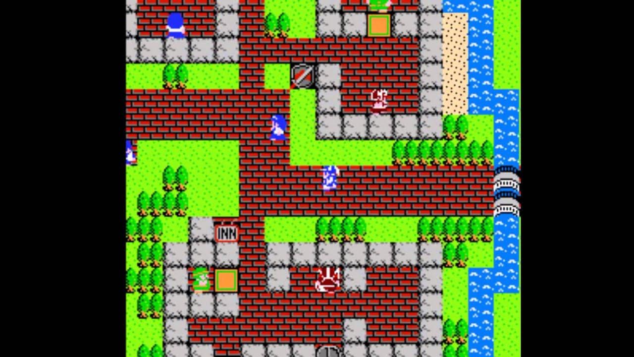 Dragon Warrior Nes Playthrough 07 Swampy Road To Rimuldar Magic Key Salesman Youtube