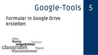 Formular in Google Drive erstellen