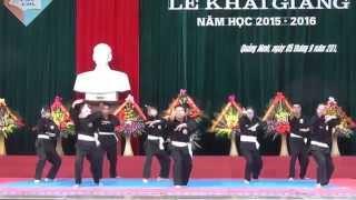 Biểu diễn Pencak silat Chuyên Hạ Long