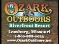 Ozark Outdoors Resort Floating Camping Canoes Leasburg MO local business patriots