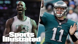 Will Celtics Retire Kevin Garnett's Number? Carson Wentz Injury Update | SI NOW | Sports Illustrated thumbnail