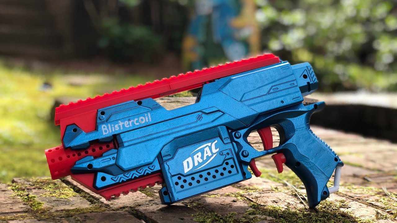 Nerf Build The Ultrastryfe Brushless Blaster Tech