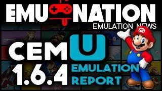 EMU-NATION: Wii-U Emulator - Cemu Version 1.6.4 Games!