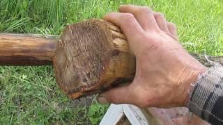 видео Защита столбов от гниения. Как растопить битум