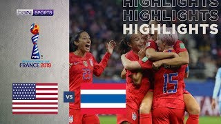 United States 13-0 Thailand | Women's World Cup Highlights
