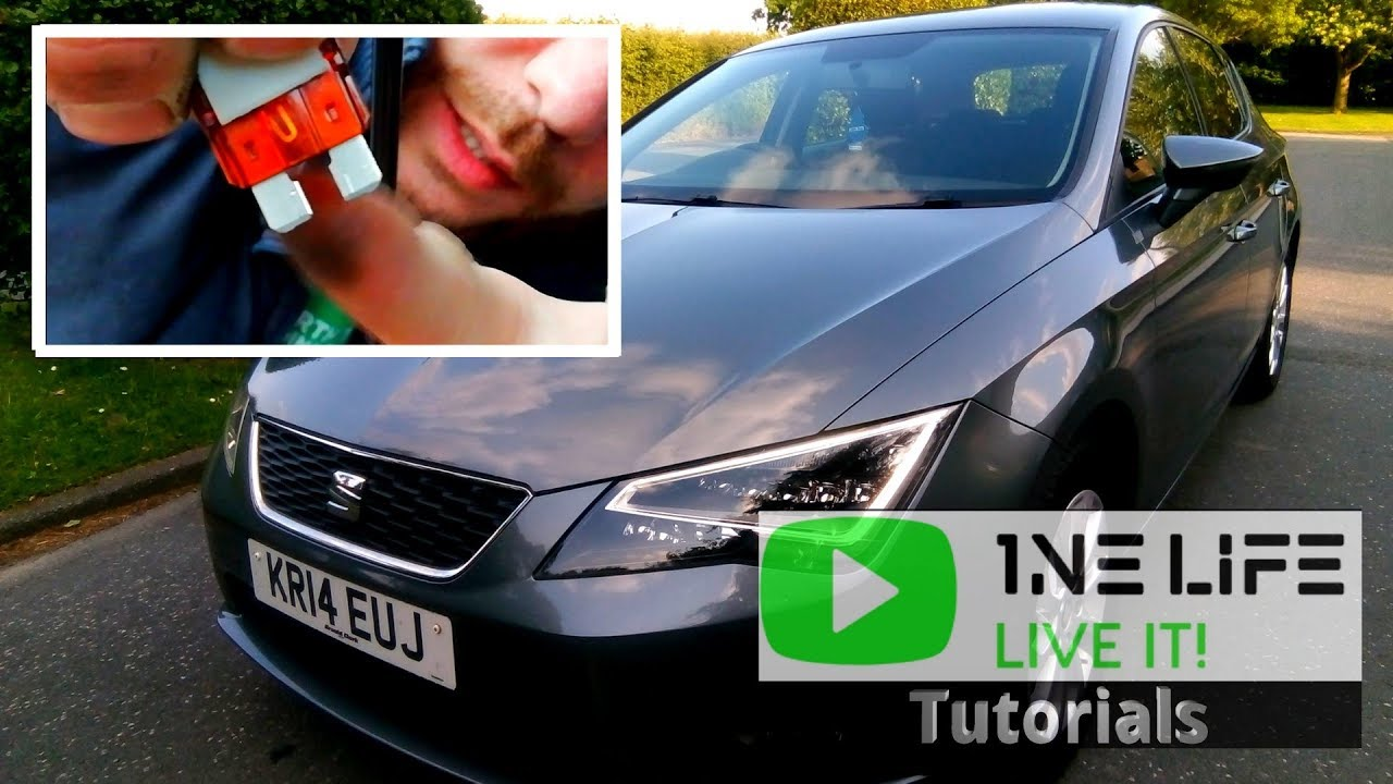 seat leon fuse box location mk3  [ 1280 x 720 Pixel ]