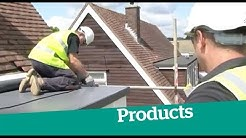 What options are available when it comes to a flat roof?